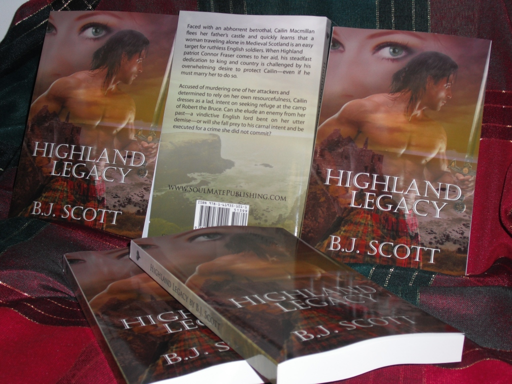 HIGHLAND LEGACY IS NOW AVAILABLE IN PRINT